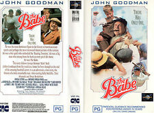 THE BABE - Goodman - VHS - PAL -New & Sealed -Never played! -Original Oz release