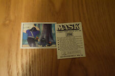 Mask Panini sticker 1986 ( M.A.S.K.  Kenner parker toys ) number 258