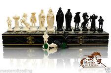 Juegos de ajedrez de plástico de color principal negro