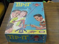 "Vintage 1965 TIP-IT ""Wackiest Balancing Game Ever"" from Ideal - Used, Orig. Box"