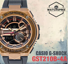 Casio G-Shock G-Steel Layered Guard Structure Watch GST210B-4A AU FAST & FREE