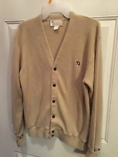 True Vintage Arnold Palmer Cardigan Sweater Medium Hipster Retro Cool