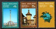 1974 NEW ZEALAND UPU & NAPIER CENTENARIES SG1047-1049 mint unhinged