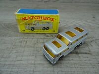 Vintage 1970's Lesney Matchbox No 66 Greyhound Coach Bus Diecast Toy Car Boxed