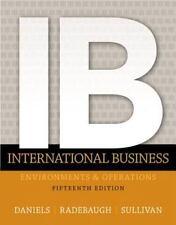 International Business by Daniel Sullivan, Lee Radebaugh and John Daniels (2014,