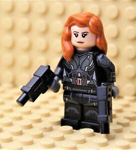 LEGO ® MARVEL SUPER HEROES   FIGUR BLACK WIDOW AUS SET 76166   NEU   SH637