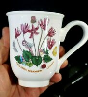Beautiful Portmeirion Botanic Garden Cyclamen Beaker Mug