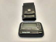 MOTOROLA / UNICATION ADVISOR ELITE  ALPHA PROP  PAGER / BEEPER  WITH HOLSTER!!