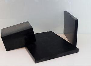 POM schwarz 500x100x15mm Platte Zuschnitt Kunststoff Halbzeug