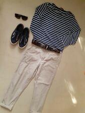 Ralph Lauren Polo Boyfriend chinos trousers pants size 10 BNWOT beige