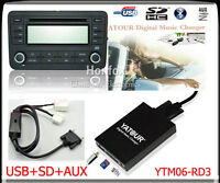 Yatour Digital CD Changer for 2004-2011 Honda Acura Mp3 USB SD Keep CD Changer