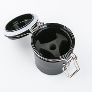 AULASH adhesive glue storage tank container airtight jar for eyelash extensions