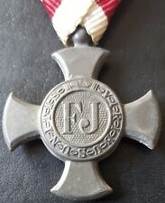 ✚7737✚ Austria Hungary Empire WW1 Iron Cross of Merit Verdienstkreuz 1916