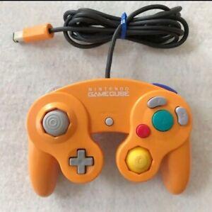Nintendo GameCube Controller Orange Excellent+ Game Cube GC NGC Japan JP NTSC-J