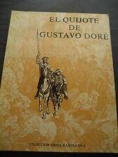 LIBRO EL QUIJOTE DE GUSTAVO DORE. ED. ERISA 1980. 1ª EDICION. 115 LAMINAS
