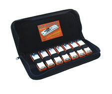 Seydel SESSION STEEL REED 7 Harmonica Set & Case
