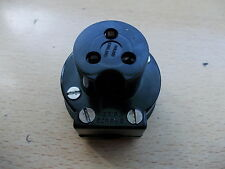 Vintage Bulgin SA2097 5 Amp 250 V RT angle prise pour quad Ferrograph fuite Racal