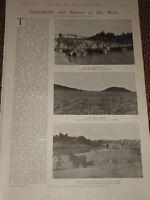 1900 Boero Guerra Pontoon Ponte Boero Trincee Arancione Fiume