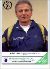 Wallau-Massenheim Autogrammkarte Handball Handsigniert Trainer VELIMIR KLJAIC