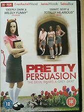 EVAN RACHEL WOOD JAMES WOODS PRETTY Persuasión ~2005 Indie Comedia GB DVD