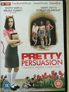 Pretty Persuasion DVD 2005 Scheming Teen Cult Film Movie w/ Evan Rachel Wood