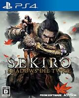 USED PS4 PlayStation 4 SEKIRO: SHADOWS DIE TWICE 42019 JAPAN IMPORT