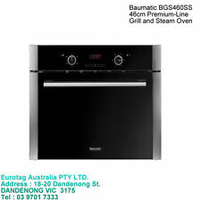 Baumatic BGS460SS 46cm Premium-Line Grill and Steam Oven  BOX DAMAGE