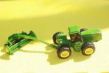1/64  John Deere 8870 Farm Tractor & ERTL 2031Q ATTACHMENT TOY FARM COLLECTABLE
