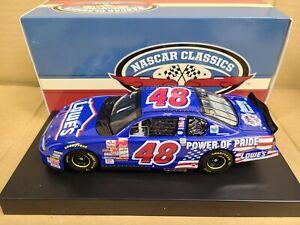 2001 Jimmie Johnson #48 Lowe's Power of Pride 1st Start 1:24 NASCAR Action MIB