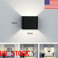 US  LED Wall Light waterproof Outdoor Up/Down Lamp Exterior lights Fixture