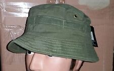 BUSH HAT OLIVE GREEN - AUSTRALIAN ARMY VIETNAM REPRODUCTION   S  &  M