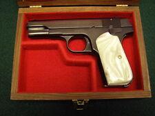 PISTOL GUN PRESENTATION CASE WOOD BOX COLT 1903 1908 HAMMERLESS ORTGIES CZ 24 27