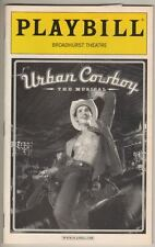 """Urban Cowboy"" Playbill 2003  Matt Cavenaugh & Jenn Colella"