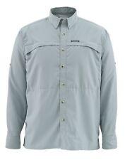 Simms STONE COLD Long Sleeve Shirt ~ NEW Heron  ~ 2XL ~ CLOSEOUT