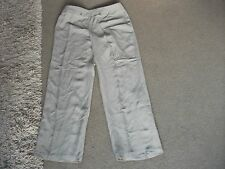 LADIES TROUSERS SIZE 10-BY LANDS' END-IN EXC. COND.-APPEAR UNWORN-BEIGE-POCKETS