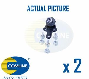 2 x NEW COMLINE FRONT LOWER SUSPENSION BALL JOINT PAIR OE QUALITY CBJ7124