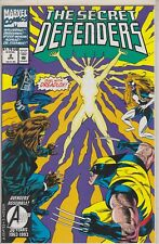 THE SECRET DEFENDERS DUEL WITH DREADLOX APR #2 MARVEL COMIC BOOK 1993
