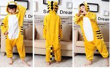 NEW Kids Tiger Cat Onesie Fancy Dress Costume Outfit Pyjama Boys Girls  2-3 year