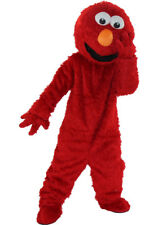 Sesame Street Elmo Monster Mascot Costume Party Fancy Dress Adult Size Halloween