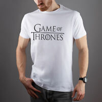 Game of Thrones TV Series Unisex Fits Man Women Game Of Thrones Logo Quotes Tee