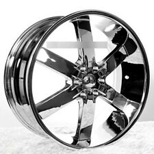 "22"" U2 Wheels 55 Chrome Rims"