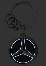 Mercedes Benz Stainless Steel Luminous Star Key Chain