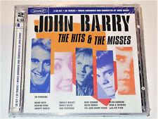 John Barry THE HITS & THE MISSES Adam Faith Shirley Bassey Vic Flic 2 CD Set New