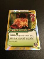 Dragon Ball Z CCG Goku Super Saiyan Catch CA21!! Cosmic Anthology Promo!!