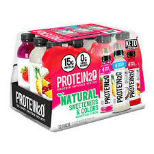 12 Pack  Protein2o Protein Water Variety Pack  16.9 Oz