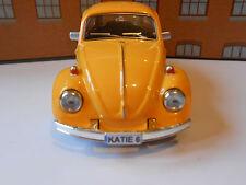 VW BEETLE PERSONALISED PLATES Toy Car MODEL GIRL BOY BIRTHDAY VALENTINE GIFT NEW