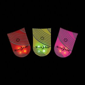 NEW Nite Ize TagLit Be Seen In The Dark! Multiple Colors Magnetic LED Marker