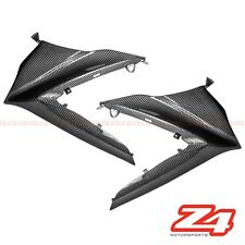 2007 2008 Suzuki GSX-R 1000 Upper Nose Side Air Tube Cover Fairing Carbon Fiber