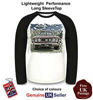 Triumph Stag Shirt, Long Sleeve T Shirt, Men's Top,