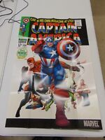 CAPTAIN AMERICA MARVEL COVER POSTER PROMOTIONAL POSTER  GM1157